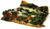 Chimirris Spinach Pizza Image