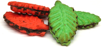 Chimirris Strawberry And Pistachio Leaf Cookie Image